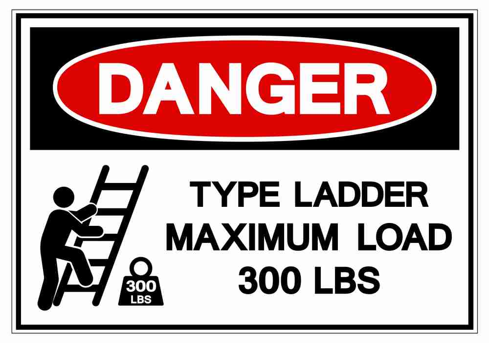 how much weight can a ladder really hold